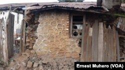 Ndako moko esali nzela nsima na konigasama ya mabele na Sud-Kivu, 7 aout 2015