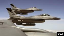 Permintaan pembelian jet tempur F-16 generasi terbaru oleh Taiwan tidak dikabulkan oleh pemerintah Amerika (foto:dok).