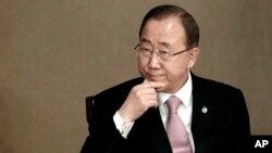 한국을 방문한 반기문 유엔 사무총장이 20일 서울에서 열린 유엔 아카데미 임팩트 서울 포럼에 참석했다. (자료사진)