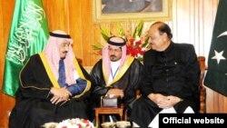 پاکستانی صدر اور سعودی ولی عہد کی ملاقات