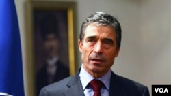 Sekjen NATO, Anders Fogh Rasmussen.