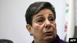 Anggota Komite Eksekutif PLO, Hanan Ashrawi. (Foto: dok).