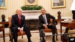 دیدار روز پنجشنبه ۲۰ آبان اوباما و ترامپ