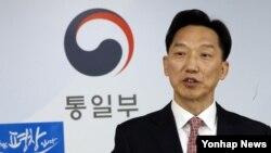 이덕행 통일부 대변인.