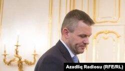 Slovakiyanın baş naziri Piter Pelleqrini