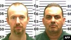 David Sweat (izquierda) y Richard Matt.