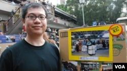 北區水貨客關注組發言人梁金成表示,香港社會反水貨客的情緒越來越激化