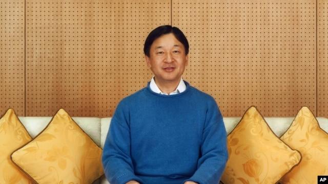 日本宮內廳公佈的2015年2月11日在太子府邸拍攝的日本皇太子德仁的照片。 德仁皇太子2月23日慶祝了他的55歲生日。