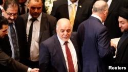 خیدر العبادی نخست وزیر در جلسه پارلمان