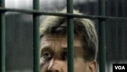 Tertuduh pedagang senjata Rusia, Viktor Bout.