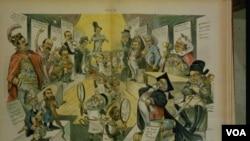 """Press View,"" litografija Louisa Dalrymplea"