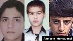 از راست: برزان نصراللهزاده، محمد کلهر و شایان سعیدپور