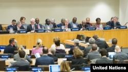 지난해 12월 뉴욕 유엔본부에서 중앙긴급구호기금(CERF) 마련을 위한 고위급 회의가 열렸다.