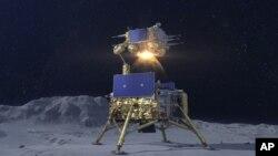 چاند کی سطح پر سے نمونے اکھٹے کرنے والی چین کی روبوٹک گاڑی،
