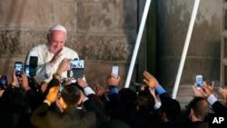 教宗方济各在厄瓜多尔