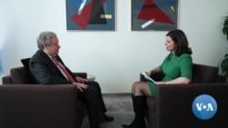 VOA Interview with UN Secretary-General Antonio Guterres