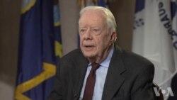 VOA专访:前总统卡特回忆为什么要与中国建交