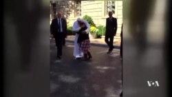 ภาพประทับใจพระเมตตาแห่งสมเด็จพระสันตะปาปากับเด็กๆที่กรุงวอชิงตัน