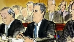 """2018-04-17 美國之音視頻新聞: 福克斯新聞主持人被爆是川普私人律師的""""秘密客戶"""""""