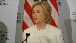 Hillary Clinton propone estrategia contra ISIS