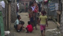 One Year After Fleeing, Rohingya Refugees Say Myanmar Still Unsafe