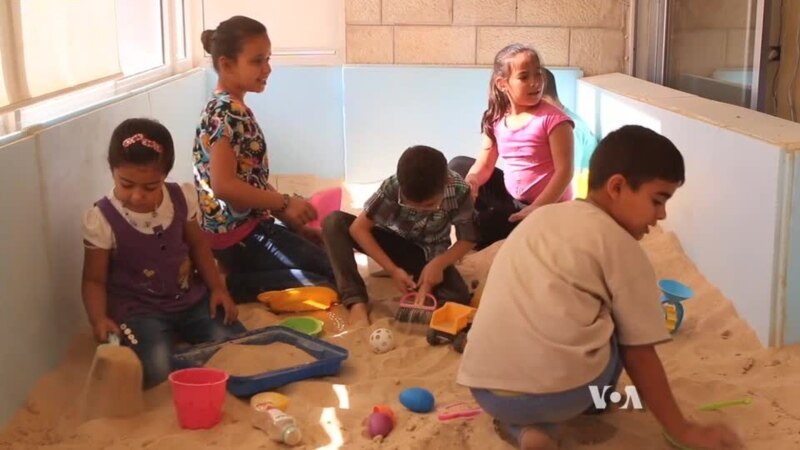 Rehabilitation for Syrian Children Traumatized by War