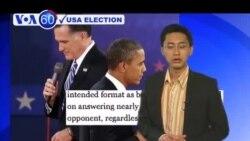Ông Obama tranh luận hoạt bát và năng nổ hơn lần trước