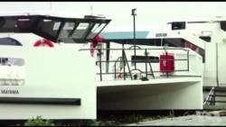 Lagoon transportation est en plein essor à Abidjan (vidéo)