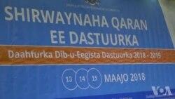 Xiritaanka Shirka Daah-furka Dib u Eegista Dastuurka