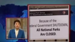 VOA连线:美国联邦政府关门第二天