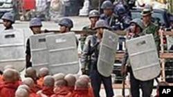 2007年示威后有些僧侣仍然在押