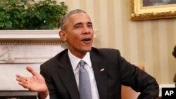 Le président Barack Obama, 10 novembre 2016.
