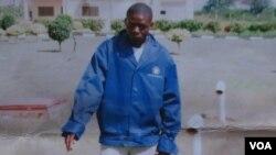 """Manuel Francisco """"Laranjinha"""", alegadamente morto pela polícia de Luanda (Foto cortesia da família)"""