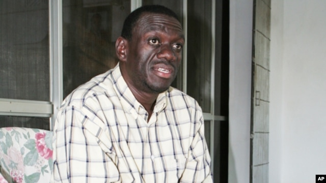 Uganda opposition leader Kizza Besigye