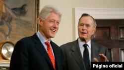 Билл Клинтон и Джордж Буш-старший, 2005 год