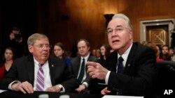Tom Price, nominado a Secretario de Salud y Servicios Humanos enfrentó fuerte cuestionamiento en el Capitolio.