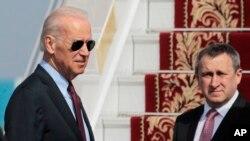 AQSh vitse-prezidenti Jo Bayden bugun Kiyevda Ukrainaning muvaqqat hukumati bilan uchrashmoqda.