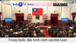 Bắc Kinh cảnh cáo Đài Loan chớ theo đuổi độc lập (VOA60)