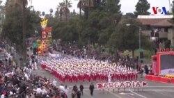 Desfile de las Rosas en California