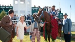 "(L-R) Diane Lane, Nelsan Ellis, Otto Thorwarth, John Malkovich in a scene from ""Secretariat"""