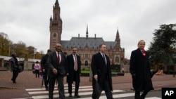 နယ္သာလန္ႏိုင္ငံ The Haque ၿမိဳ႕က ႏုိင္ငံတကာ တရားရံုး ICJ