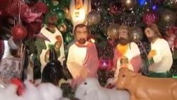 疯狂的圣诞节装饰