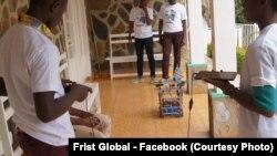 تیم جمهوری دموکراتیک کانگو در رقابت بین المللی روبات ها در واشنگتن
