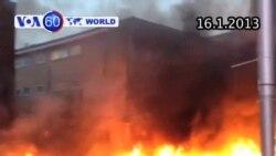 Máy bay trực thăng rơi ở London (VOA60)