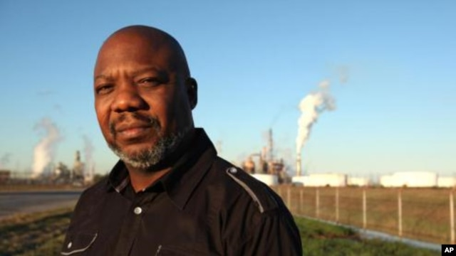 Hilton Kelley won the prestigious Goldman Environmental Prize for his work confronting refineries on pollution in the town of Port Arthur, Texas