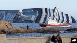 اٹلی جہاز حادثہ، لاپتہ مسافروں کی تلاش دوبارہ شروع