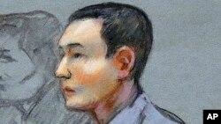 Azamat Tazhayakov, teman tersangka pelaku bom Boston Dzhokhar Tsarnaev, dinyatakan bersalah oleh pengadilan di Boston (foto: dok).