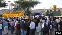 Cộng đồng người Việt tại Houston tổ chức kỷ niệm Ngày 30 tháng Tư.