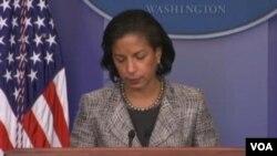 白宫国家安全顾问苏珊•赖斯 (美国之音视频)