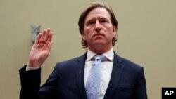 크리스토퍼 크렙스 미 국토안보부 산하 사이버보안·기반시설보안국(CISA) 국장이 지난해 5월 하원 청문회에서 증언했다.
